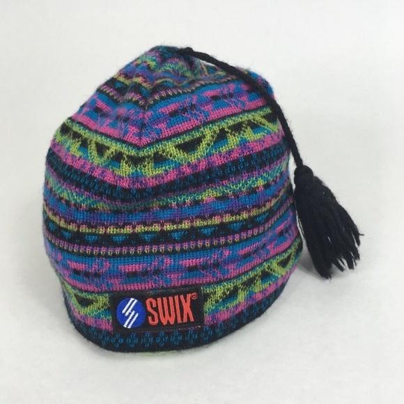22254f5b15e Swix Tassel Ski Hat Wool Unisex Made in Sweden. M 5bb65d4703087c3ec1376daa